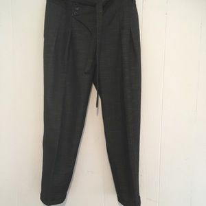 Charcoal Anthropology ankle pants size 4